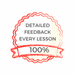 Feedback every lesson On Target Tuition
